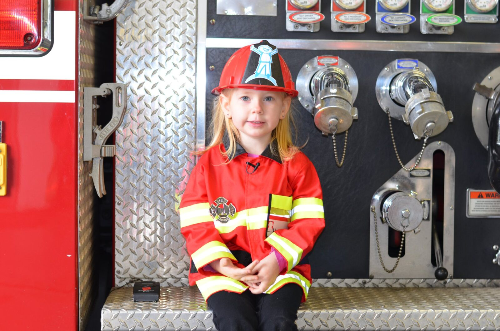 Holly Dreams of Being a FireFighter