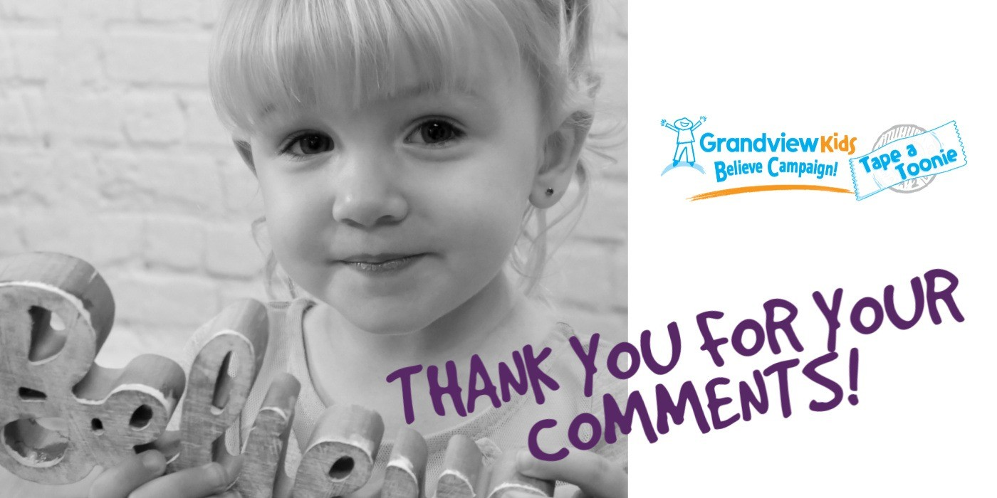 Why our community gives to Grandview Kids… (we have SUCH caring friends!)