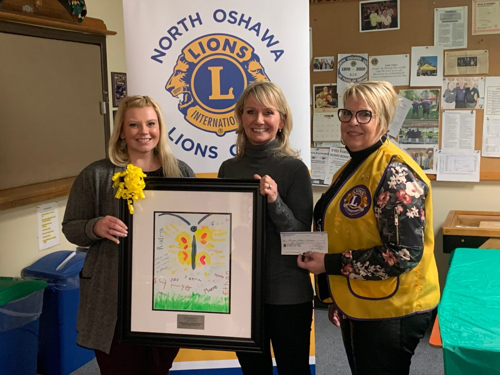 Thanks for believing in Grandview, North Oshawa Lions Club