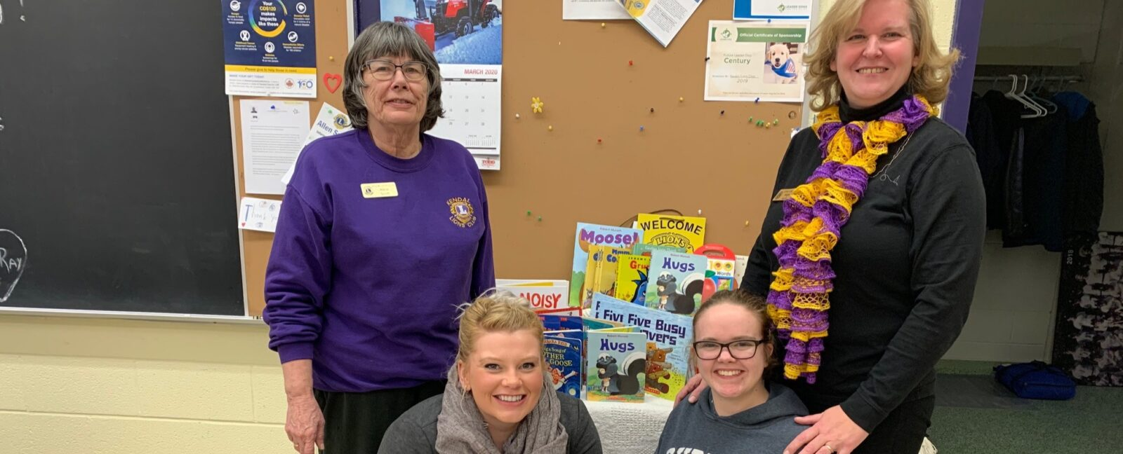 New Books for our Kids – Thank You Kendal Lions Club!