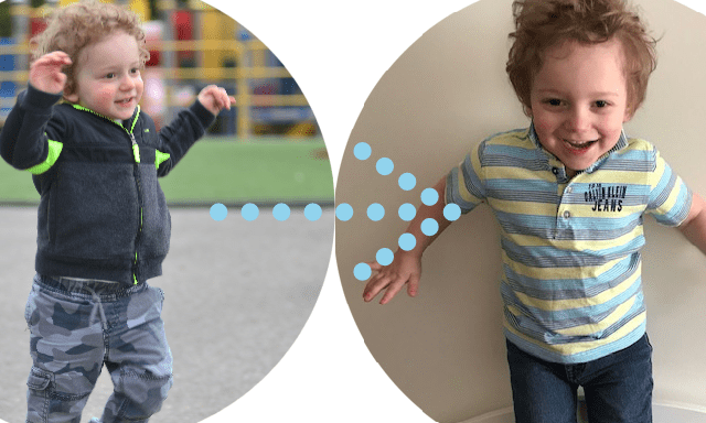 Update on Matthew (little boy featured in our GET ACTIVE CHALLENGE materials)